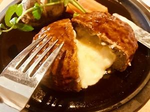 チーズ ハンバーグ